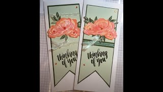 Slim Line Thinking of You Card