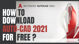 How to download and install AutoCAD 2021 Student Version for Free? |Windows| Virtual World Official