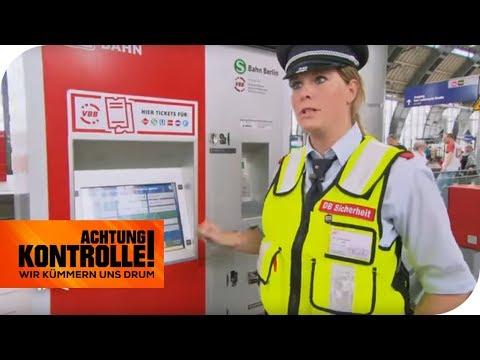 Die Tricks der Diebe: manipulierte Fahrkartenautomaten? | Achtung Kontrolle | kabel eins