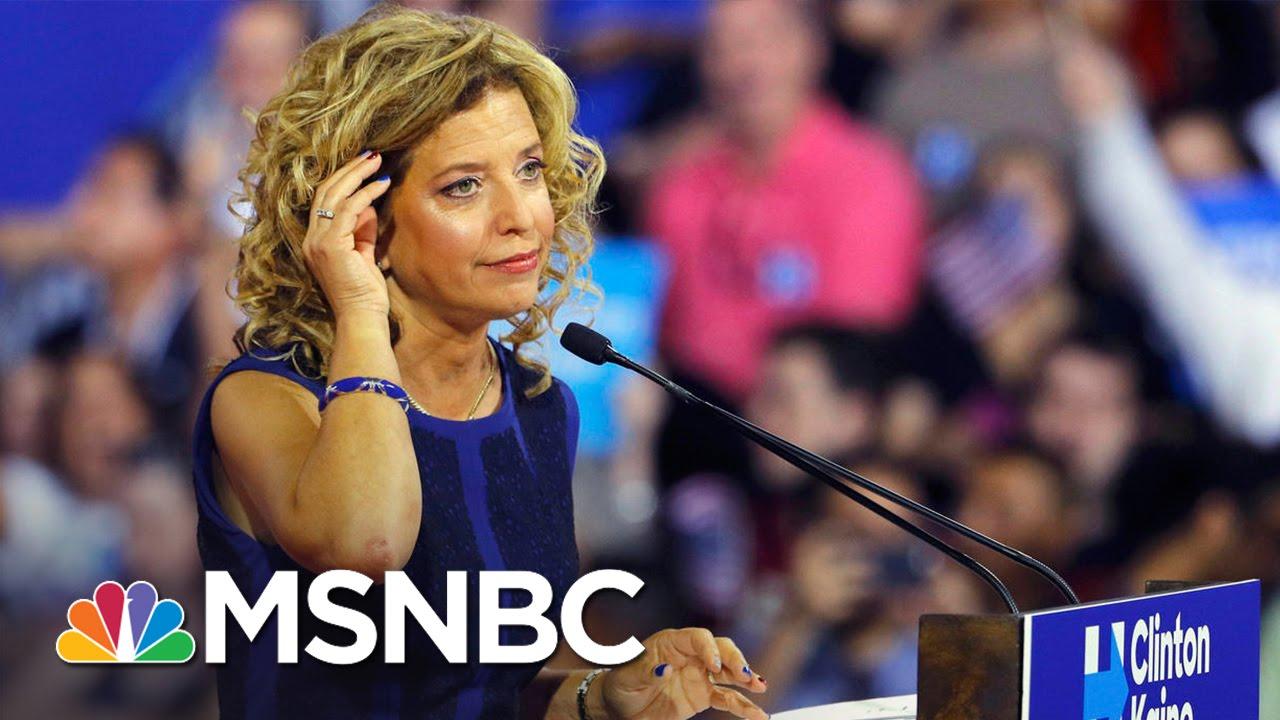DNC Chair Debbie Wasserman Schultz Won't Gavel In Convention | MSNBC thumbnail