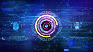 Artificial Intelligence tech background | futuristic technology background | virtual cyber security