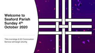Parish Communion: Sunday 4th October