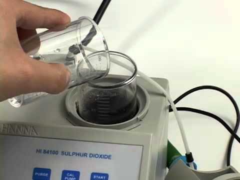 Video instructivo HI 84100