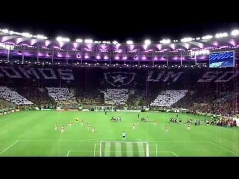 """""""Torcida do Botafogo mosaico  somos um só"""" Barra: Loucos pelo Botafogo • Club: Botafogo"""