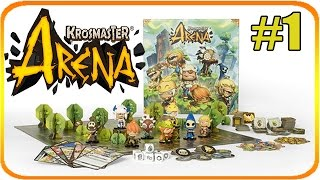 Krosmaster Arena Let's Play Together: Sebastian fängt an. [GER/Deutsch] #1