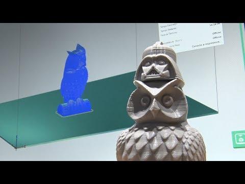 O futuro é agora: impressora 3D imprime quase tudo que você possa imaginar