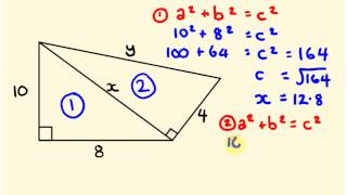 Pythagorus' Theorum - Math Problems