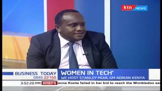 Stanley Muia, GM Adrian Kenya talks about Women in Tech