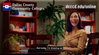 DCCCD's Online Classes Take You From Pajamas to Graduation Cap