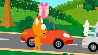 Мультфильм про машинки – Котенок и волшебный гараж – Пробка - Для самых маленьких