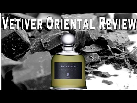 Vetiver Oriental by Serge Lutens fragrance/cologne review