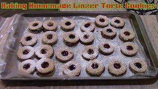 Baking Homemade Linzer Torte Cookies - Family Circle Recipe