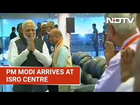 PM Modi At ISRO To Watch Chandrayaan 2's Moon Landing