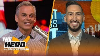LeBron is best player in NBA, Clippers might not make it to June, talks Chiefs — Nick | THE HERD