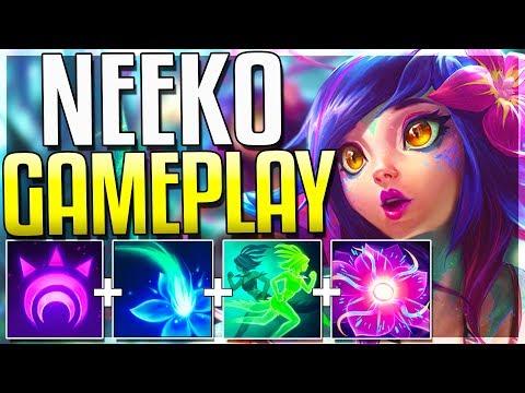 全世界第一支 Neeko的遊玩影片