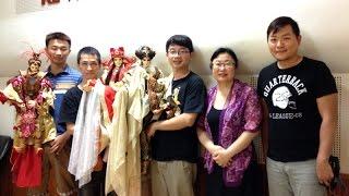 【央廣華語】台灣之光  三昧堂創意木偶團隊  神佛特展