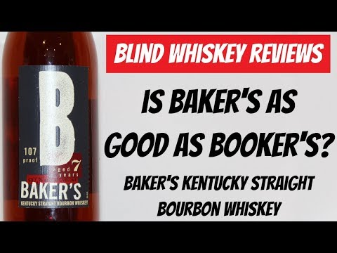 Baker's Kentucky Straight Bourbon Whiskey- Blind Review!!!