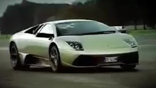 Lamborghini Murcielago review and Stig lap - Top Gear series 9 - BBC