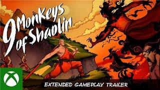 9 Monkeys of Shaolin - Extended Gameplay Trailer