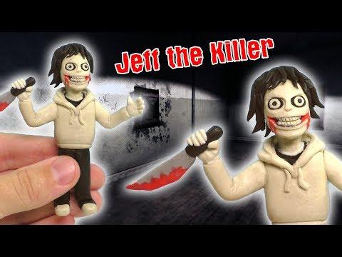 ЛЕПИМ ДЖЕФФА УБИЙЦУ ИЗ ПЛАСТИЛИНА | Jeff the Killer from clay