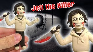 ЛЕПИМ ДЖЕФФА УБИЙЦУ ИЗ ПЛАСТИЛИНА | Jeff the Killer from clay