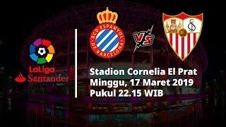 Video Live Streaming Pertandingan Pekan ke-28 La Liga, Espanyol Vs Sevilla, Minggu Pukul 22.15 WIB