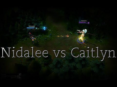 Nidalee And Caitlyn
