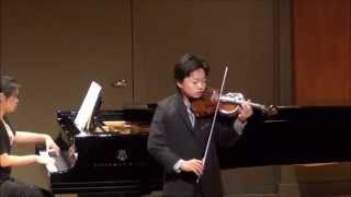 Ray Ushikubo performs Violin Concerto No. 5 in A Minor, Op. 37 by Henri Vieuxtemps