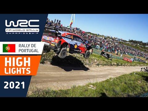 WRC 2021 第4戦ラリー・ポルトガル SS15-SS19ハイライト動画