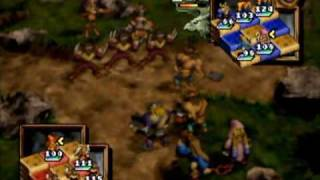 Ogre Battle 64: Person Of Lordly Caliber - N64 Gameplay