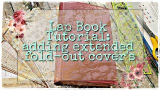Lap Book Tutorial: Adding Extended Fold-out Covers