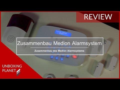 Zusammenbau und App Medion Alarmsystem P85770 - Unboxing Planet