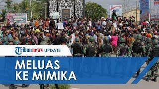 Kerusuhan Meluas ke Mimika, Massa Marah Tak Segera Ditemui Bupati & Ketua DPRD Mimika
