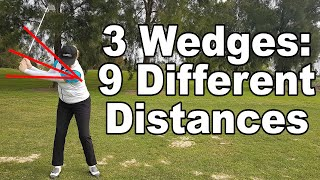 The easy way to judge distances with your 40-80 metre pitching wedge shots