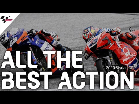 MotoGP スティリアGP レースのベストシーンだけを集めたダイジェスト動画【MotoGPを無料で楽しめる無料動画】