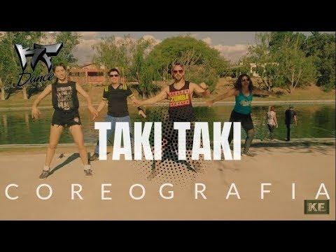 Taki Taki - DJ Snake ft. Selena Gomez, Ozuna, Cardi B | KF Dance | Coreografía Zumba®
