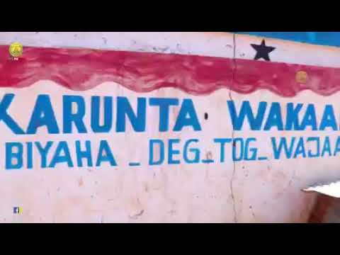Wasiirka Wasaaradda Horumarinta Biyaha JSL Oo Dhagax dhigay Mashruuca Biyo Balaadhinta Ee Dagmadda Wajaale