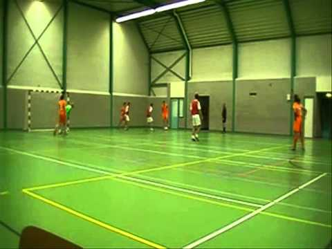 Zaalvoetbal - AFC 2002 tegen Sportcafé Oeffelt