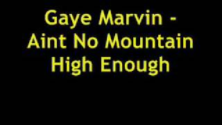 MARVIN GAYE - AINT NO MOUNTAIN HIGH ENOUGH
