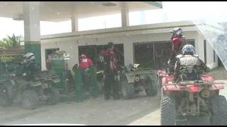 preview picture of video 'RALLY CAMINOS FRONTERIZOS 2009-LLEGADA  PEDERNALES,REPUBLICA DOMINICANA.'