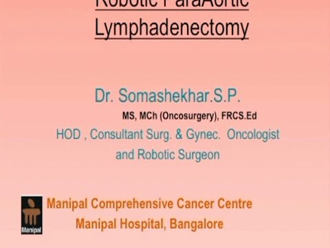Robotic ParaAortic Lymphadenectomy