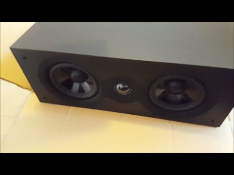 SX-70 unboxing CAMBRIDGE AUDIO cassa centrale SPETTACOLO