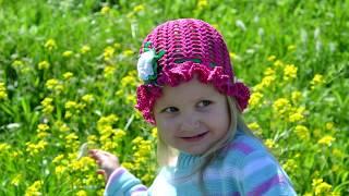 """Шляпка-панамка крючком для девочки"" (Hat-panama crochet for girls)"