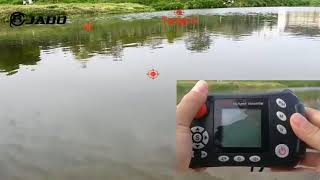 Кораблик для рыбалки jabo-5cg gps 10а