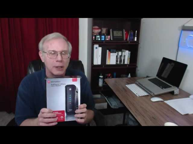 Motorola SURFboard SB6121 Cable Modem Unboxing and Review
