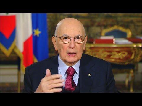 Messaggio di fine anno del Presidente della Repubblica Giorgio Napolitano