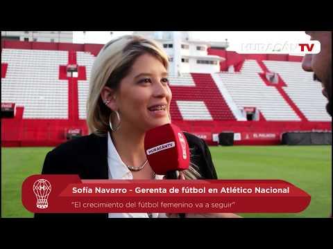 """""""El crecimiento del fútbol femenino va a seguir"""""""