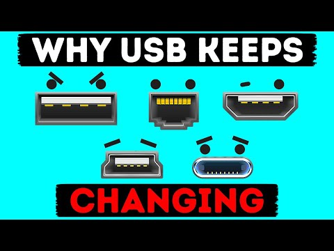 They Changed USB 10 Times in 26 Years, but Why