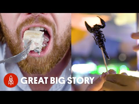 The Most Shocking Dishes From Around the World