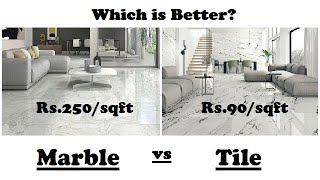 Marble vs Tile Which is Better?